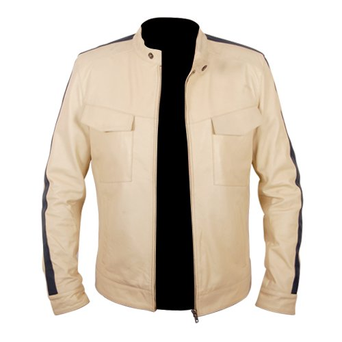 NFS Need For Speed Off White Racing Leather Jacket