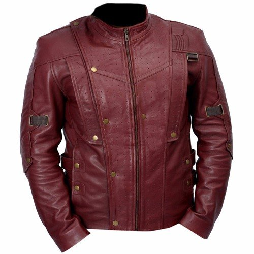 Guardians Of The Galaxy Genuine Leather Jacket