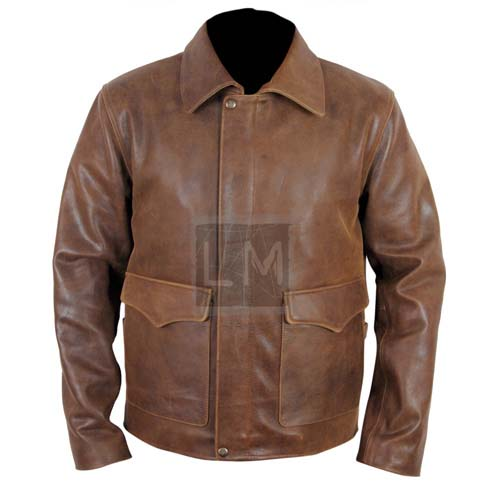 Indy leather jacket