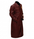 New Star Lord Faux Leather Long Coat 2