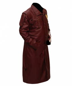 New Star Lord Guardians Of The Galaxy Faux Leather Long Coat