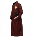 New Star Lord Faux Leather Long Coat 3