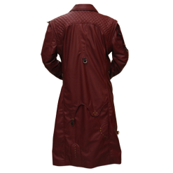 New Star Lord Faux Leather Long Coat 4