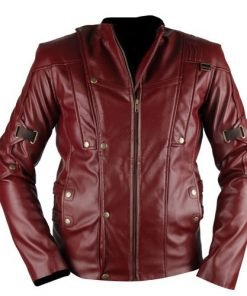 New Star Lord Guardians Of The Galaxy Leather Jacket