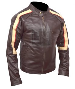 Ethan Hawke Getaway Chocolate Brown Leather Jacket