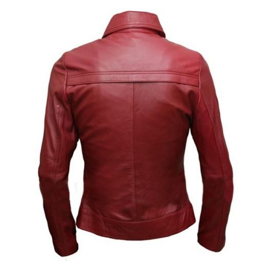 Once Upon A Time Red Leather Jacket