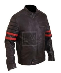 Punk Mayhem Black Biker Faux Leather Jacket