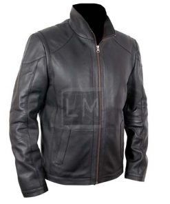 Red 2 Black Biker Faux Leather Jacket