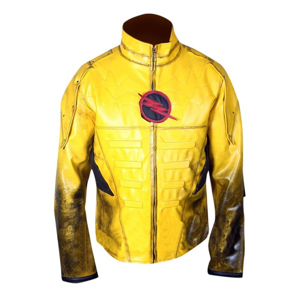 Reverse Flash Eobard Thawne Zoom Yellow Lightning Faux