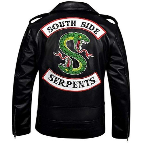 Riverdale Southside Serpents Genuine Real Leather Jacket