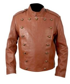 The Rocketeer Tan Leather Jacket Billy Campbell