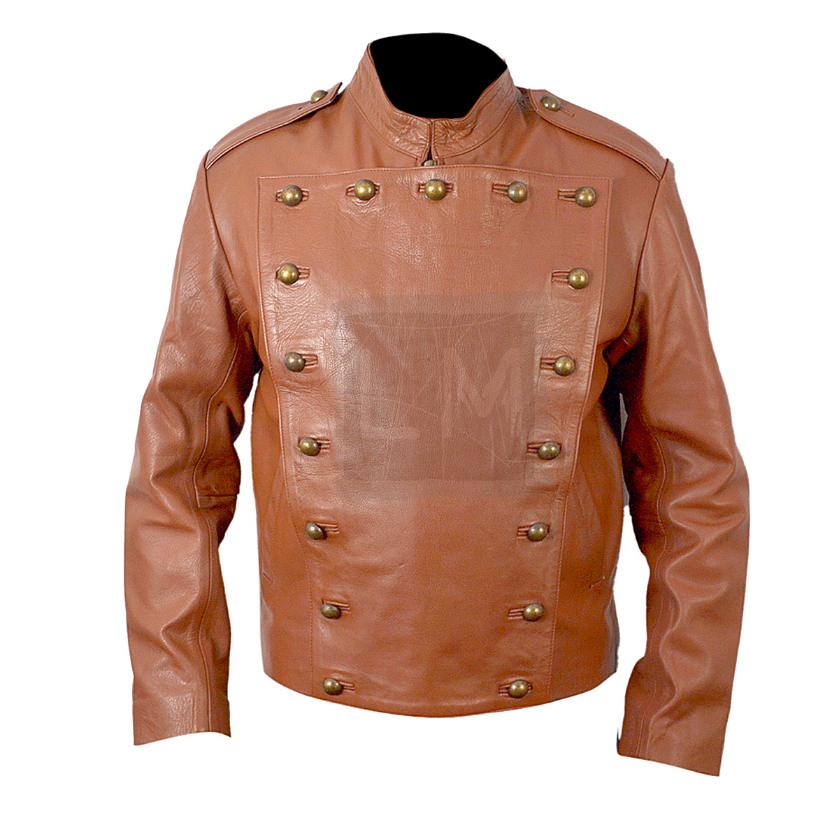 The Rocketeer Tan Leather Jacket Billy Campbell | Leather ...