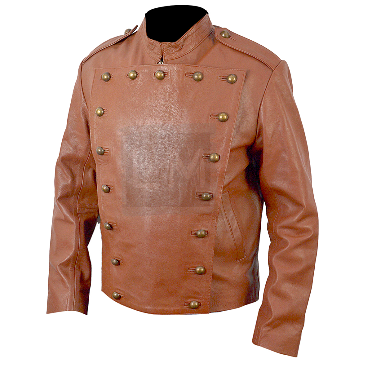 The Rocketeer Tan Leather Jacket Billy Campbell - Leather ...