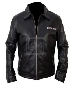 Sons Of Anarchy Black Biker Faux Leather Jacket