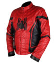 Spider-Man Homecoming Red & Black Leather Jacket 2