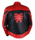 Spider-Man Homecoming Red & Black Leather Jacket 4