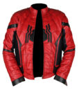 Spider-Man Homecoming Red & Black Leather Jacket 5