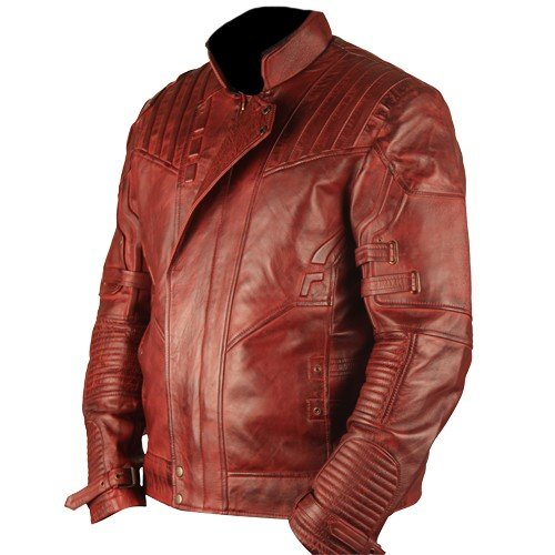 Star Lord Guardians Of The Galaxy Vol 2 Genuine Leather Jacket Waxed