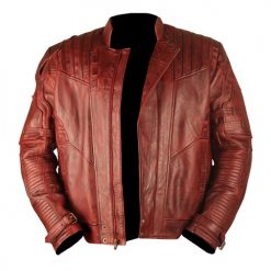 Star Lord Genuine Leather Jacket Waxed