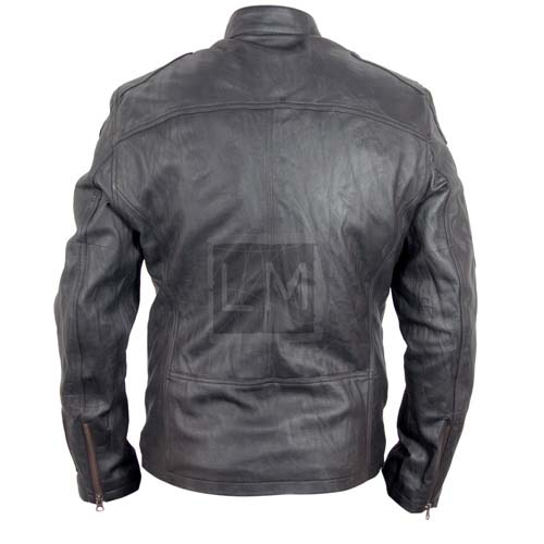 Star Trek Black Leather Jacket