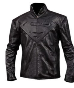 Smallville Black Faux Leather Jacket