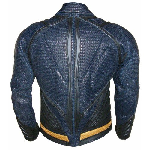 Superman Man Of Steel Genuine Real Leather Jacket