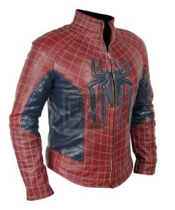 The Amazing Spiderman Faux Leather Jacket