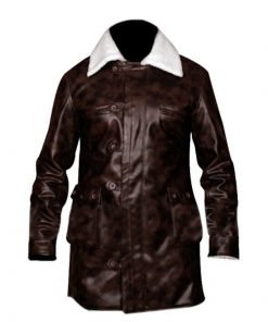 Tom Hardy The Dark Knight Rises Bane Coat Faux Leather