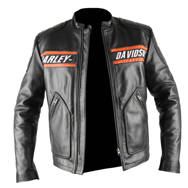 Wwe Goldberg Harley Davidson Genuine Leather Jacket