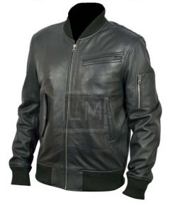 Wall Street Shia Labeouf Genuine Leather Jacket Money Never Sleeps