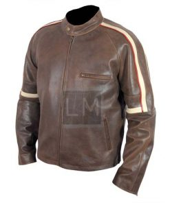 War of the Worlds Genuine Leather Jacket Tom Cruise