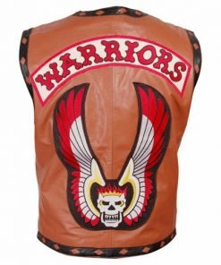 Warrior Faux Leather Vest