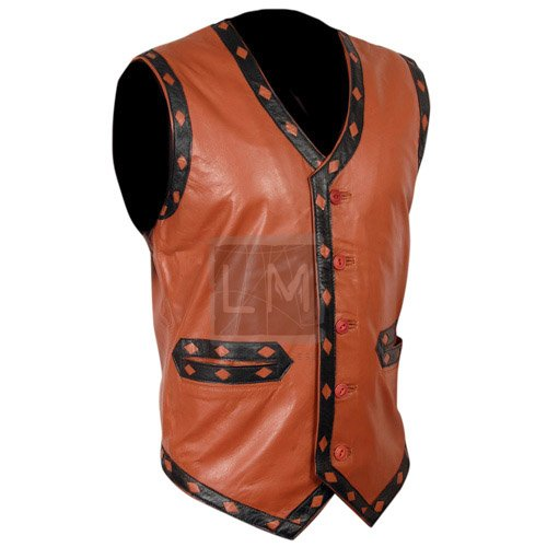 Warrior Leather Vest