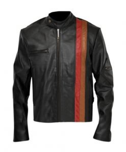 X Men Cyclops Black Genuine Real Leather Jacket