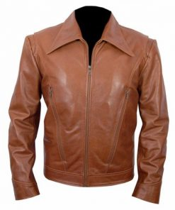 X Men Days Of Future Past Brown Biker Leather Jacket