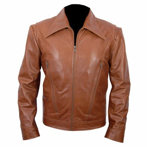 X-Men-Wolverine-Brown-Biker-Leather-Jacket