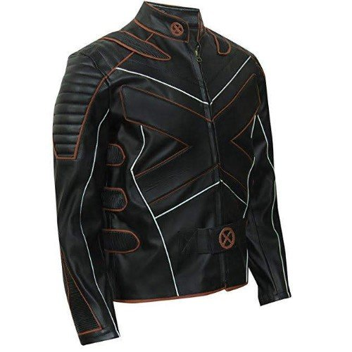 X Men Wolverine Genuine Leather Jacket