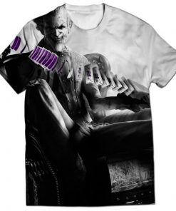 batman arkham joker all over printed t-shirt _1