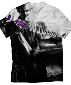batman arkham joker all over printed t-shirt _2