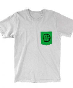 hulk pocket tee white