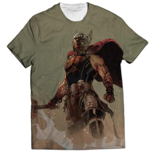 thor all over printed t-shirt (