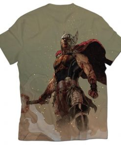 thor all over printed t-shirt