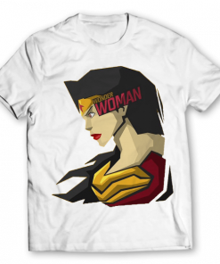 wonder woman printed graphic t-shirt